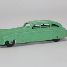 1940s Jumbo Tootsie Toy Torpedo Sedan Exc Condition Green
