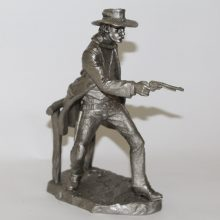 1979 Franklin Mint Western Heritage Museum The Gunfighter Jim Ponter