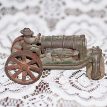 Arcade A.C. Williams Cast Iron Road Steam Roller with Driver 4.5 inch,Toy,Vintage Toy