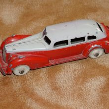 Hubley Kiddie Toy Car Cadillac Diecast w/Tin Chassis,Hubley,Vintage Toy,Toy,Antique Toy